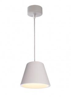 Deko Light Lea Pendelleuchte weiß 1 flg. GX53 Modern