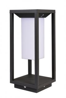 Deko Light Samas LED Solar Laterne 340mm, dunkelgrau