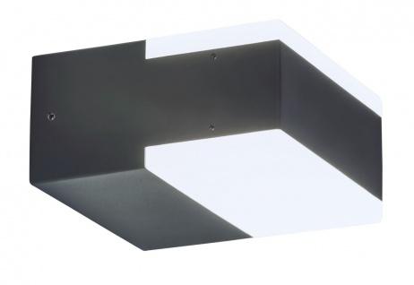 Rabalux Bona Außen LED Wandleuchte anthrazit
