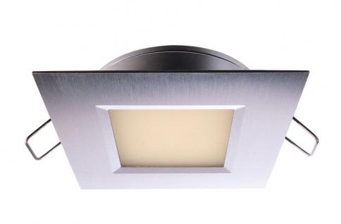 Deko Light Einbaustrahler LED silber IP44 210lm 3000K >80 Ra 110° Modern