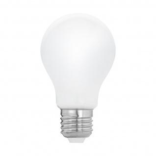 EGLO E27 A60 LED Leuchtmittel 8W 1055lm 2700K Glühbirne opal Filament