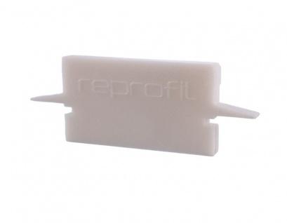 Deko Light Endkappe H-ET-01-15 Set 2 Stk für Profil weiß