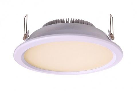 Deko Light Einbaustrahler LED silber IP44 1100lm 3000K >80 Ra 110° Modern