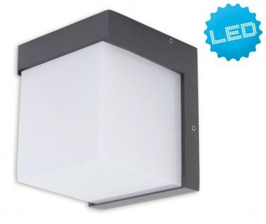 LED Außenwandleuchte anthrazit, weiß Näve 11, 6x11, 7x13, 9cm IP54 350lm - Vorschau
