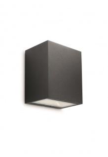 Philips Led-wandaussenleuchte Flagstone 1-flg. schwarz