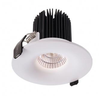 Deko Light COB Back Light Einbaustrahler LED weiß, schwarz 1000lm 3000K >80 Ra 48° Modern
