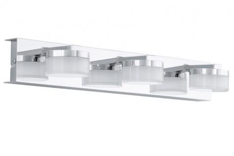 EGLO ROMENDO LED Spiegelleuchte chrom, satiniert-klar