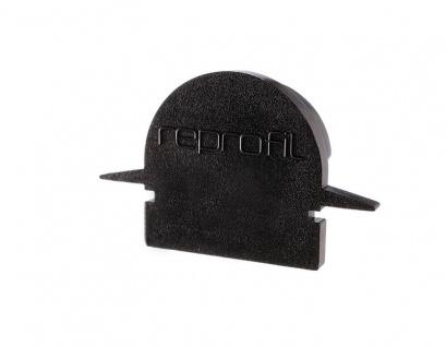 Deko Light Endkappe R-ET-01-10 Set 2 Stk für Profil schwarz