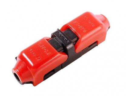 Deko Light Kabelverbinder 10xD1, 0, 3-0, 75mm², max.10A schwarz, rot IP20