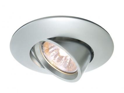 Deko Light Einbaustrahler silber-matt 1 flg. GU5, 3 / MR16