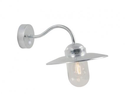 Nordlux Luxembourg Wandaussenlampe verzinkt mit Bewegungsmelder