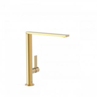 Tres Exclusiv Project-Tres Hohe Design Waschtisch und Spültisch Einhebel Armatur 211.405.01