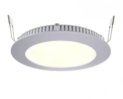 Deko Light LED Panel 8 Einbaustrahler silber 590lm 2700K >80 Ra 115° Modern