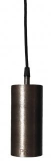 Hängeleuchte Industrie design aus Metall antik silber PR Home Ample 7x350cm E27 mit Stecker