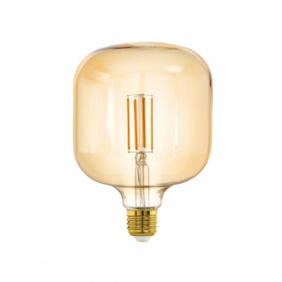 EGLO LED Leuchtmittel E27 T125 4W 400lm 2200K 340° amber dimmbar 125x180mm