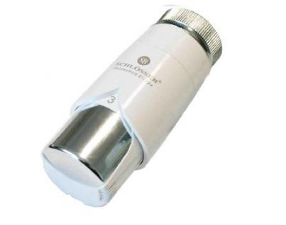 Schlösser Thermostatkopf Diamant Plus M30 x 1, 5 für Danfoss weiß/chrom 6001 00015