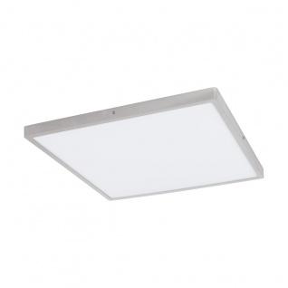 LED Deckenleuchte eckig EGLO FUEVA 1 silber 500x500mm 4000K