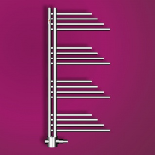 MERT Design Badheizkörper Belluna 500 x 1000 mm, Farbe chrom