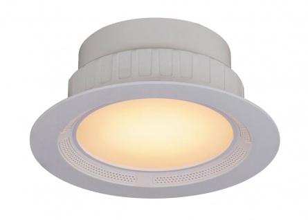 Rabalux Shea RGB LED Einbauleuchte mit Bluetooth Lautsprecher weiß 1050lm 2700-6500K, RGB