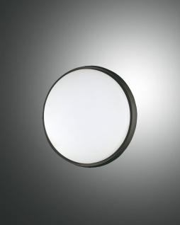 LED Deckenlampe außen schwarz Fabas Luce Olly 180mm 900lm IP54