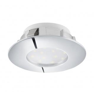 EGLO PINEDA LED Einbauspot, Starr Ø78, 1-flg., chrom