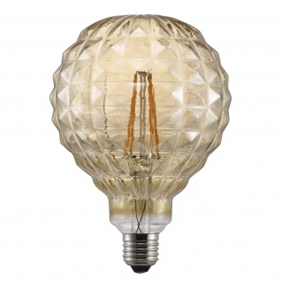 Nordlux Avra Square E27 LED Leuchtmittel 140lm 2W 2200K 360° Amber Filament