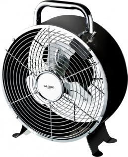 Globo VENTI Ventilator schwarz