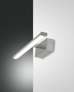 LED Spiegelleuchte chrom Fabas Luce Nala 300mm 540lm 3000K