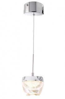 Deko Light Doradus I Pendelleuchte LED transparent, chrom 340lm 3000K >80 Ra 200° Modern