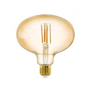 EGLO LED Leuchtmittel E27 R140 4W 400lm 2200K 340° amber dimmbar 140x152mm