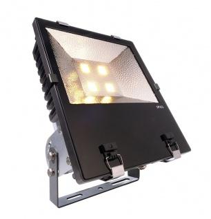 Deko Light Flood COB 200 WW Außenstrahler LED anthrazit, silber IP65 16000lm 3000K >70 Ra 110° Modern