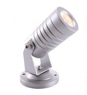 Deko Light Mini I WW Außenstrahler LED silber-grau IP65 150lm 3000K >80 Ra 30° Modern
