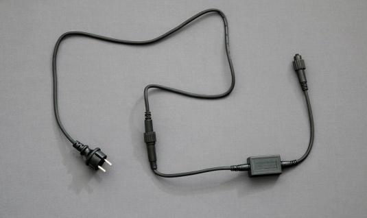 QUICK FIX® Anschlussleitung LED schwarz