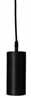 moderne Hängeleuchte aus Metall schwarz PR Home Ample 7x350cm E27 mit Stecker - Vorschau