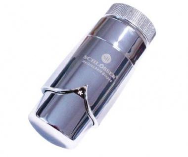 Schlösser Thermostatkopf Brilliant M30 x 1, 5 für Danfoss chrom/chrom 6005 00008