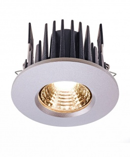Deko Light COB 68 IP65 Einbaustrahler LED silber IP65 670lm 2700K >80 Ra 45° Modern