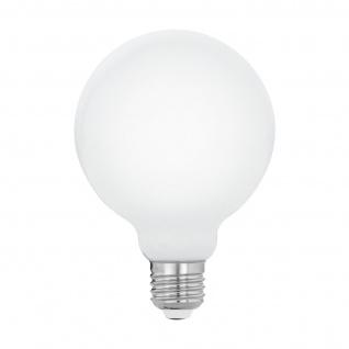 EGLO E27 G95 LED Leuchtmittel 8W 1055lm 2700K opal Filament Globe
