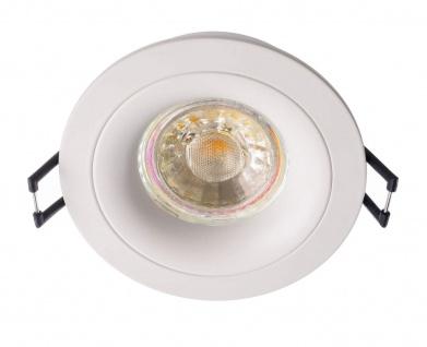 Deko Light Sirrah rund Deckeneinbauring weiß 1 flg. GU5, 3 / MR16 Modern