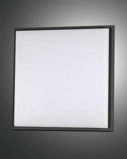 LED Deckenaußenleuchte schwarz Fabas Luce Desdy 2800lm 300mm IP54
