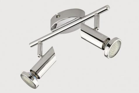 Briloner Led-schiene in chrom, GU10 LED