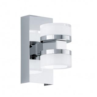 EGLO ROMENDO 1 LED Spiegellampe 70x155mm 2x570lm IP44 chrom