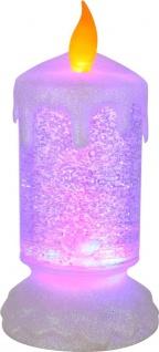 Globo CANDLELIGHT Tischleuchte Kunststoff Transparent, 1xLED