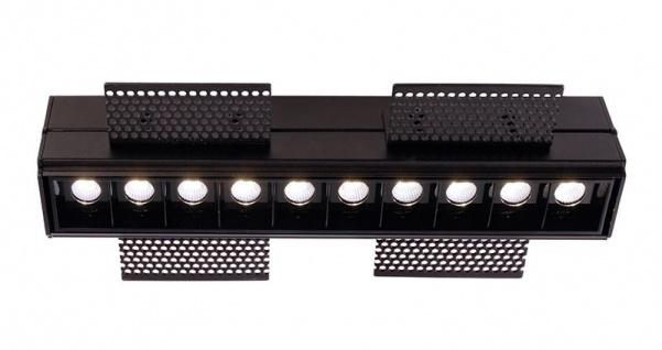 Deko Light Ceti 10 Hide Einbaustrahler LED schwarz, schwarz 1545lm 2900K >90 Ra 45° Modern