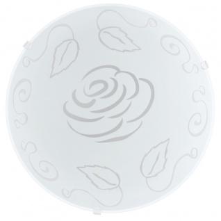EGLO MARS 1 Wand & Deckenleuchte, Rose E27 weiss