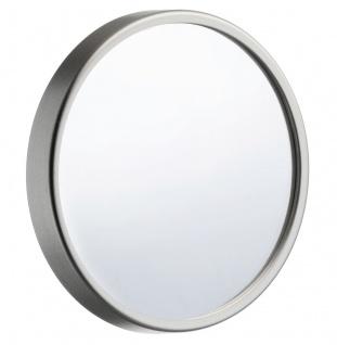 Smedbo Outline Lite Kosmetikspiegel 12-Fach mit Saugnapf aus Kunststoff silber 90mm FS621