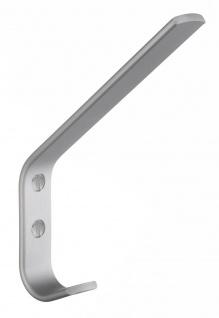 Smedbo Garderobenhaken 140mm Aluminium matt B1044