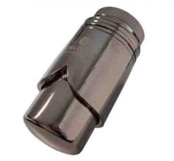 Schlösser Thermostatkopf Brilliant M30 x 1, 5 Heimeier Schwarzchrom 6002 00011