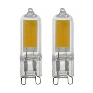 EGLO G9 LED Leuchtmittel 2er VE 2W 200lm 3000K 47x14mm