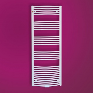 MERT Badheizkörper Standard gebogen 400 x 1000 mm mit Mittelanschluss