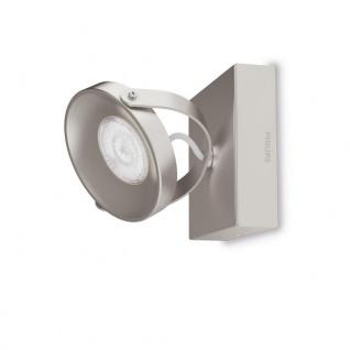 Philips myLiving LED Spot Spur 1flg. 533101716, 500lm, Stahl gebürstet